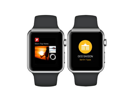 STERN and GEO SAISON for the Apple Watch